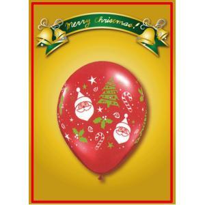 Qualatex  サンタ&クリスマスツリー ルビーレッド 10個入り|funari