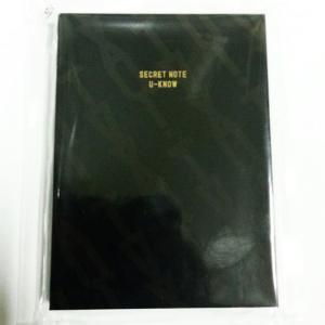 東方神起 TVXQ! Secret Note (U-Know Yoon Ho)  サイズ:11 X ...
