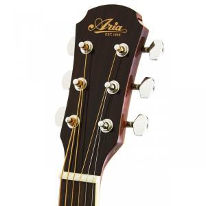 創りの良い・アリアアコギ入門セット|ARIA  ADF-200 N (ナチュラル)  小ぶりなフォーク・タイプ / アコースティックギター・豪華10点セット!|funhoused|03