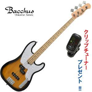 バッカス・ニューベース|Bacchus / BTB-PJ 2TS (2トーンサンバースト)  メイプ...