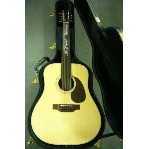 ヤイリのカタログ外・12弦モデル K.Yairi  MYW-65-12 /  ヤイリギター / 純国産 トップ単板 / 12弦 ・純正ハードケース付属 funhoused