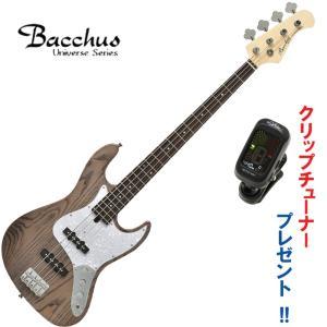 アッシュボディ!バッカス・ジャズベース|Bacchus / WJB-400R ASH/CHG-SM ...