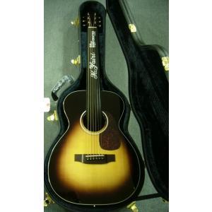 ヤイリ特注カラー・モデル! K.Yairi Standard Series YF-018 SB /  ヤイリギター/ 純国産 オール単板 / シングル・オー ・純正ハードケース付属 funhoused