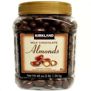アーモンド チョコレート 1.36kg お徳用 業務用 カークランドシグネチャー