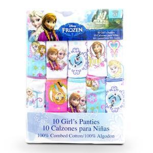 アナと雪の女王 ショーツ 10枚セット 子供用 女の子 ガールズ 下着 キャラクター グッズ トレーニング|funks-store
