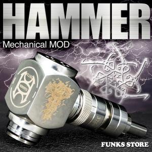 電子タバコ ハンマー Hammer MOD メカニカル モッド funks-store