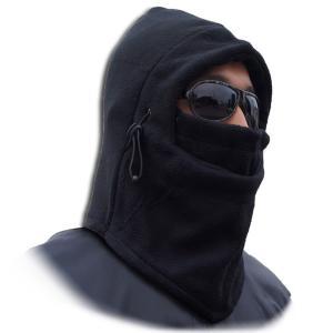 BALACLAVA フェイスマスク バラクラバ ニット帽 目出し帽 ネックウォーマー ブラック 防風 防雪 防寒|funks-store