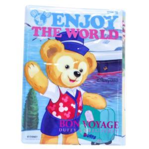 ポイント10倍 香港ディズニー 限定 ダッフィー シェリーメイ パスポート ホルダー ケース ENJOY THE WORLD Disney Duffy shelliemay|funks-store