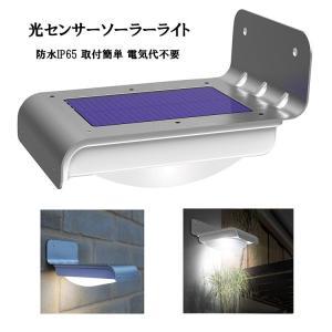 音声感知センサー搭載防雨ソーラーLEDライト 音声センサー 明るさセンサー搭載 SLED055 funlife