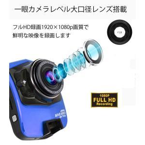 1080P対応ドライブレコーダー ヤガミドラレコ 暗視に強い 高画質フルHD 常時録画 小型車載カメラ HDMI出力 動体検知録画 GT300|funlife|02