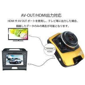 1080P対応ドライブレコーダー ヤガミドラレコ 暗視に強い 高画質フルHD 常時録画 小型車載カメラ HDMI出力 動体検知録画 GT300|funlife|05