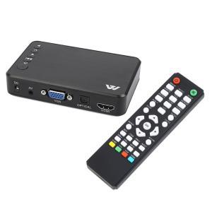 フルHD 対応(最大1920x1080)マルチメディアプレーヤー SD/USB/HDD HDMI/VGA対応 MP400|funlife