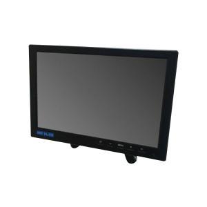 オンダッシュモニター 10インチ メディアプレーヤー機能 IPS液晶 HDMI/VGA/RCA入力搭載 スピーカー内臓 USBメモリデータ再生対応 12V専用 OMT101|funlife
