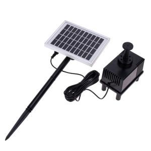 ソーラー噴水 魚のいる池や水槽の酸素供給、庭の噴水、灌漑などに利用可能 電源は必要なし 池ポンプ 太陽光 SP002 funlife