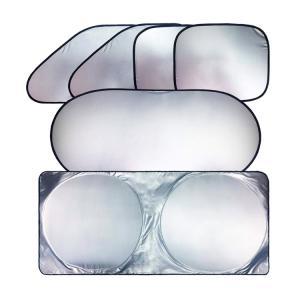 紫外線100%カット!!車用遮光サンシェード お得な6点セッ...