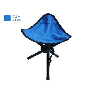 アウトドアに便利 レジャー/折りたたみ椅子/ハイシート チェア/軽量 コンパクトチェア/三脚チェア 三脚折り畳み椅子 AT6733|funlife|04
