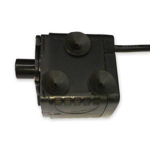 汎用ミニ水中ポンプ DC12V 小型ブラシレスポンプ 静音設計 ウォーターポンプ 流量280L/h 最大揚程2m 交換用取水口 電源コード付 PAD400|funlife|04
