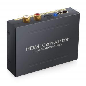 HDMIデジタルオーディオ分離器(HDMI to HDMI + 光デジタル SPDIF +Audio...
