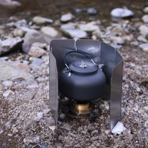 [ALOCS]キャンプ・アウトドア用ケトル ポータブルやかん 0.8L お茶 コーヒー ポット 軽量 登山 BBQ 野外 収納袋付き 硬質アルミ 携帯用ケトル ALOCWK02|funlife|06