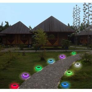 花型ソーラーLEDライト イルミネーション ガーデンライト ソーラー充電 防水 光センサー 夜間自動点灯 7色変化 8種モード 庭 芝生 公園 フラワーライト BSVFL017|funlife|09