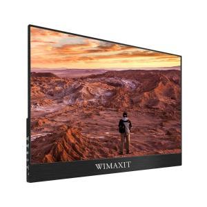 WIMAXIT 15.6インチモバイルタッチモニター モバイルモニター ディスプレイ 1080P高解...