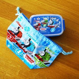 149【送料無料】きかんしゃトーマス 弁当箱 + 袋 【定形外郵便】|funny-gift