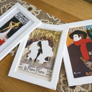 22 フランスで見つけたアート×3 パリ カフェ アンティーク アート ラッピング無料 送料無料|funny-gift