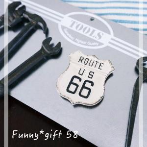 58 ルート66 マグネット ROUTE66  バイカー メール便OK|funny-gift