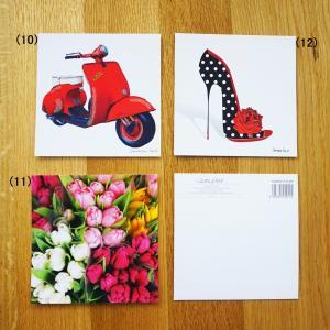 888 ■ メッセージ カード ■ 正方形 ■|funny-gift