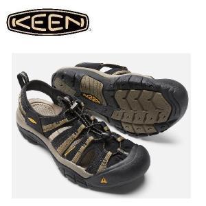 セール KEEN キーン ニューポートH2 ブラック×ストーングレー 1001906 メンズ サンダ...