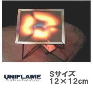 メール便可 UNIFLAME/ユニフレーム/バーナーパット S 610695 シングル バーナーパッ...