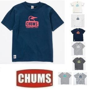 セール メール便可 CHUMS/Booby Face T-Shirt チャムス/ブービーフェイスロゴTシャツ CH01-1011/1243 メンズ 半袖 S M L XL アウトドア フェス