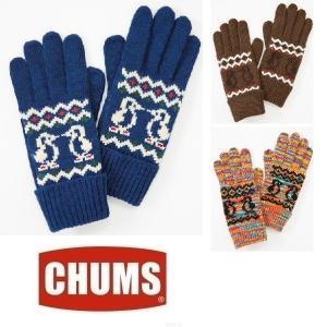 セール CHUMS/Knit Booby Glove チャムス/ニットブービーグローブ CH09-1020 手袋 グローブ カウチン アウトドア|funnybunny