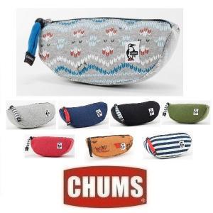 メール便可 CHUMS/Watermelon Pouch Sweat チャムス/ウォーターメロンポーチスウェット CH60-0630 小物入れ ミニバッグ メイク コスメ ポーチ|funnybunny