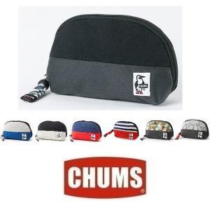 メール便可 CHUMS/Shell Pouch Sweat Nylon チャムス/シェルポーチスウェットナイロン CH60-0692 小物入れ バッグ メイクポーチ  |funnybunny