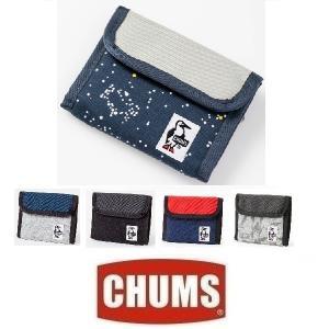 メール便可 CHUMS/Trifold Wallet Sweat Nylon チャムス/トリフォルドウォレットスウェットナイロン CH60-0696 財布 コインケース ポーチ フェス|funnybunny