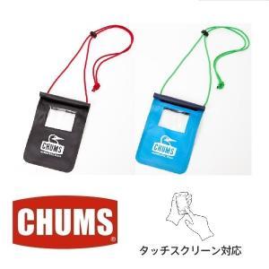 メール便可 CHUMS/Box Elder Smart Phone Case チャムス/ボックスエルダースマートフォンケース CH60-2134 スマホ スマフォ ケース 撥水 タッチ操作|funnybunny