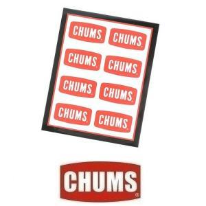 メール便可 CHUMS/Sticker CHUMS Logo Mini Sticker チャムス/ステッカーチャムスロゴミニ CH62-0089 ステッカー シール デカール アウトドア キャンプ|funnybunny