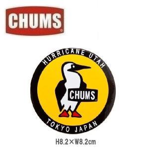 メール便可! CHUMS/Sticker Round Booby Bird チャムス/ステッカーラウンドブービーバード CH62-0156 シール デカール|funnybunny