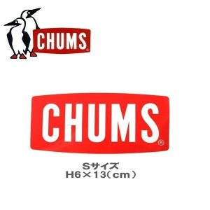 メール便可 CHUMS/Sticker CHUMS Logo Small チャムス ステッカーチャムスロゴスモール CH62-1072 シール デカール