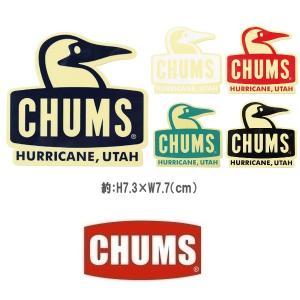 メール便可 CHUMS/Sticker Booby Face チャムス/ステッカーブービーフェイス CH62-1124 シール デカール アウトドア ブービーバード ペンギン|funnybunny