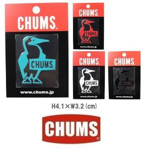 メール便可 CHUMS/Booby Bird Emboss Sticker チャムス/ブービーバードエンボスステッカー CH62-1126 シール デカール 転写 アウトドア|funnybunny