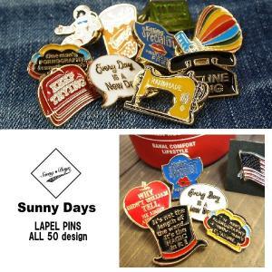 メール便可 Sunny Days/Lapel Pins サニーデイズ/ラペルピンズ LP-16 ピンバッジ ピンバッチ アクセサリー 小物 カスタム リメイク|funnybunny