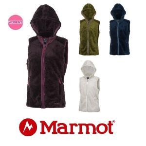 【ご予約品】Marmot/マーモット/W's オリジンフリースベスト MJF-F6608W レディース フリース ベスト フード アウトドア|funnybunny
