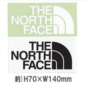 メール便可 THE NORTH FACE/TNF Cutting Sticker ノースフェイス/TNFカッティングステッカー NN88106 シール デカール 転写 アウトドア