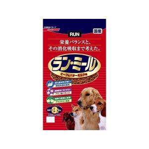 日清ペットフード ラン・ミール ビーフ&バターミルク味 8Kg 〔ペット用品〕|funnyfunny