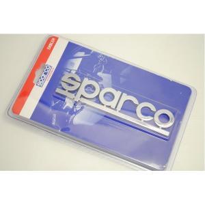 SPARCOロゴのクロームレターエンブレム SPC4207|funnyfunny