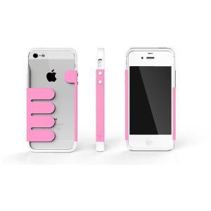 HandHold ホワイト/ピンク FB102-WHPK iPhone5用ケース funnyfunny