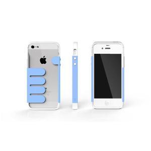 HandHold ホワイト/ブルー FB102-WHBL iPhone5用ケース funnyfunny