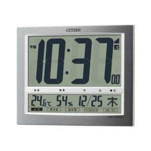 シチズン 掛・置兼用時計 パルデジットワイド140 8RZ140-019 1個|funnyfunny
